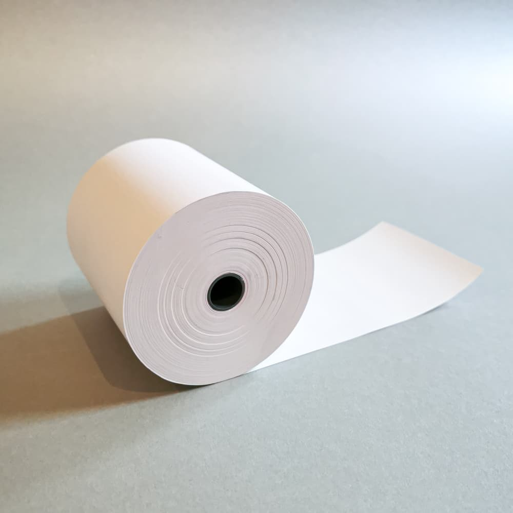 Thermorollen 80x60x12 (∅ 80 mm), 75 g/m² Papier - 1 Rolle